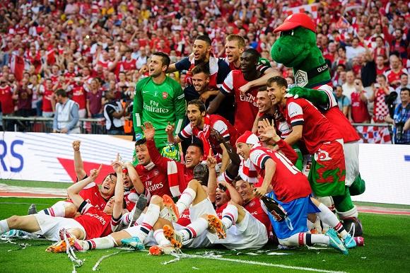 Mesta FA-cup-vinnarna Arsenal