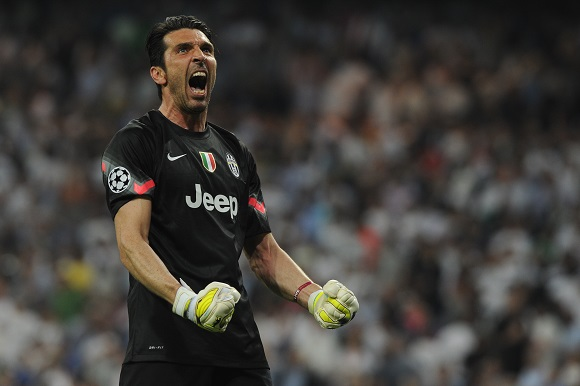Juventus målvakt Buffon