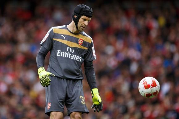 Arsenals Peter Cech inför säsongen
