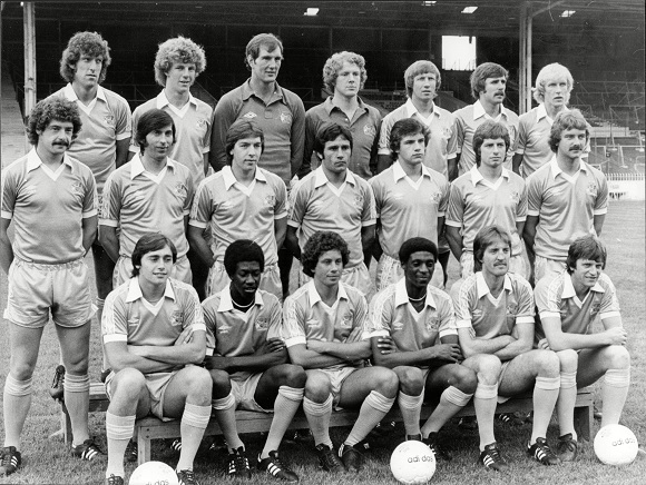 Manchester City F.c. Team Group 1979. (for Full Caption See Version)